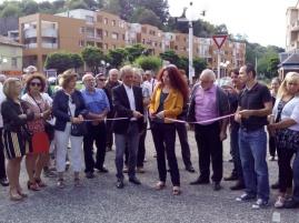 Inauguration de la Fêtee de la Noisette, Lavelanet, 2018.