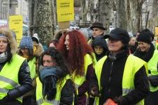 Manifestation femmes Gilets Jaunes, 01/2018.