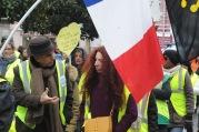 Marche des femmes gilets jaunes, Foix - 27/01/19