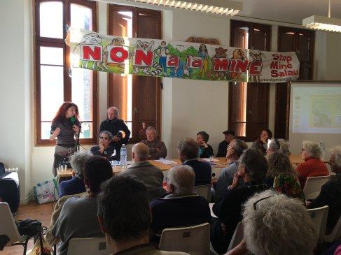 Conference de presse, Mine de Salau, 22/03/19.