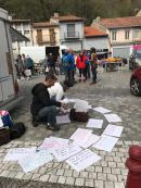 Ouverture de parole, Marché de Lavelanet, 19/04/19.